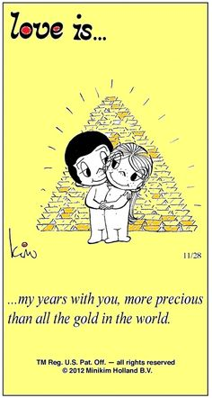 """love is...all these years!!"