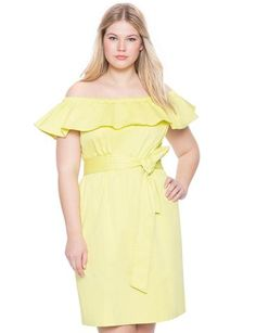 cf77e9e8980 We ve selected our top Plus Size off shoulder trending fashion finds from  Eloquii.