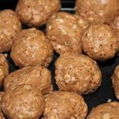 Peanut Butter Protein Balls on BigOven: Trust me these are freaking good! Even my kids ate them up. Great for preworkout snack.