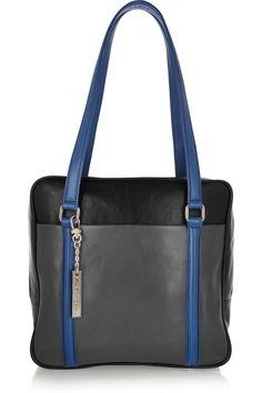 DKNY | Paneled leather bag