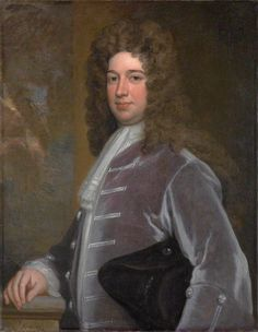The Duke of Kingston by Godfrey Kneller, 1709 - Evelyn Pierrepont, 1st Duke of Kingston-upon-Hull (c.1655–726) was an English aristocrat. He had been the member of parliament for East Retford before his accession to the peerage as fifth Earl of Kingston-upon-Hull in 1690. While serving as one of the commissioners for the union with Scotland he was created Marquess of Dorchester in 1706, & took a leading part in the business of the House of Lords. In 1715 was created Duke of…