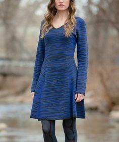 1c4b3064e5b Indigo   Heather Black Pima Cotton   Wool Sweater Dress Heather Black