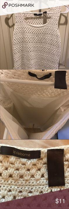 Liz Claiborne Medium Shirt Great condition! MUST GO! Liz Claiborne Tops Tank Tops