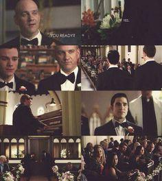 Klaine wedding part 1