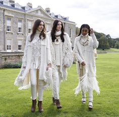 Elegance at Althorp: Ralph Lauren presents a special, exclusive fashion presentation of the Fall '15 Collection, inspired by nomadic romance, in England's beautiful Northamptonshire