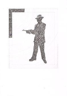 4 TSO sociaal-technisch: sihouet, passerlijnen, zwart stiftje