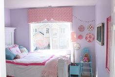 Alliyah's Pretty in Pink (and Purple) Room My Room