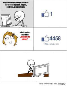 Statusy na FB.