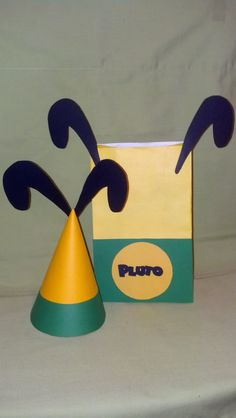 Pluto Party BagMickey Mouse Party Bags & Hats by MagicalFantasia, $20.00