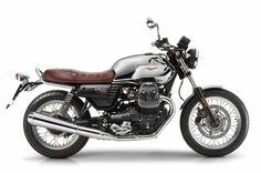 Moto Guzzi's tribute to the V7's 50th anniversary, the V7 III Anniversario is a limited edition bike, with only 750 units being made.