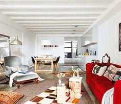 Un loft con doble altura en Barcelona