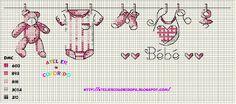 Atelier Colorido PX: Fio com roupa do menino e da menina... (Gráficos feitos por mim)!
