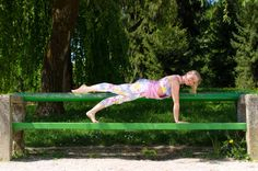 Plank in the park, now you do it and share it with us :)
