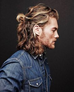 nice 50 Eye-catching Men's Ponytail Hairstyles - Be Different Check more at http://machohairstyles.com/best-ponytail-hairstyles/