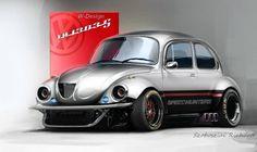 W-Design. VW 1303S Monster