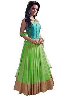 Khazanakart fashion green net lehenga khazanakart http://www.amazon.in/dp/B01GEKZLGW/ref=cm_sw_r_pi_dp_1-twxb0Z6SE46