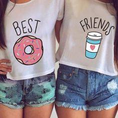 Best Friends Tees (Coffee)