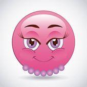 Cartoon emoticons design — Stock Vector #78971936