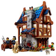 Lego Sets, Boutique Lego, Coal Forge, Brick Store, Light Brick, Medieval Fortress, Monster Book Of Monsters, Medieval Houses, Fantasy Weapons