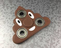 Poop Emoji Fidget Spinner Funny Toy