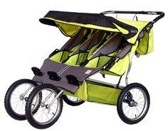 BeBeLove USA Green Triple Jogging Stroller | Best Buy Baby Products Store