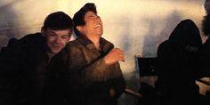 Ki Hong Lee and Thomas Brodie Sangster laughing Maze Runner Funny, Maze Runner Thomas, Maze Runner The Scorch, Maze Runner Cast, Maze Runner Movie, Maze Runner Trilogy, Maze Runner Series, Thomas Brodie Sangster, The Scorch Trials