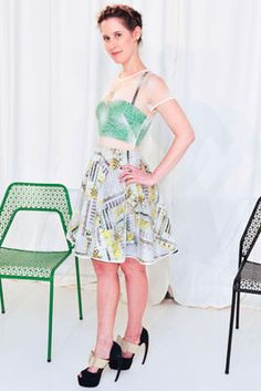 Jordana Warmflash in Novis at the Novis Spring 2014 presentation at New York Fashion Week on September 6, 2013