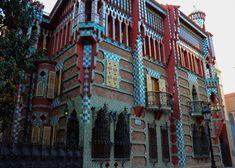 Antoni Gaudí, Casa Vicens, 1883-1885, Photograph by Filip Grass, Antoni Gaudí's Barcelona