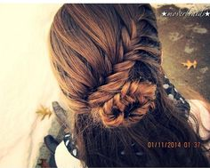 Fishtail Rose Bun - Hairstyles and Beauty Tips