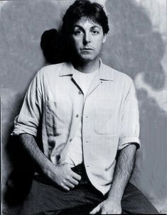 Paul McCartney Portrait1983 By Linda