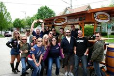 insert classy here - Top Gun theme bday party -  Pedal Pub