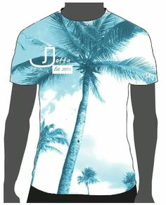 Womens tee concept design 2014 palm tree shirt  joffa.co.uk