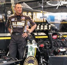 NHRA Top Fuel driver Tony Schumacher in Charlotte 2012. http://liveoctane.com/blog/2012/07/tony-schumacher-1/