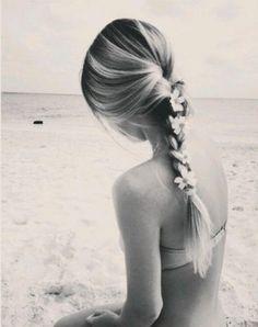 Beautiful beach braid