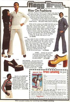 Blast From The Past: Classic 1970s Vintage Fashion Magazine Ads