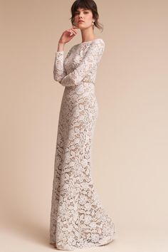 Medallion Gown from @BHLDN
