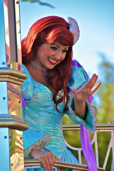 Ariel the little mermaid Ariel Disney World, Disney World Princess, Disney Dream, Disney Parks, Disney Stuff, Disney Movies, Disney Face Characters, Princess Collection, Disney Cosplay