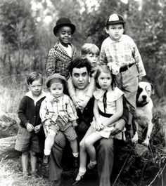 The gang with Billy Gilbert in a still from the short, Free Eats. Little Rascals Quotes, Great Memories, Childhood Memories, Little Rascals Buckwheat, Cowboy Films, Kids Comedy, Classic Comedies, Young Celebrities, Glamour Photo