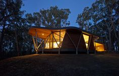 Trunk House, Lal Lal, Victoria   by Paul Morgan Architects