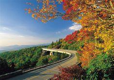 Blue Ridge Parkway in North Carolina and Virginia