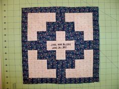 Remember Me civil war quilt block