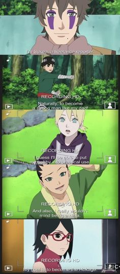 New Generation's goals for after the Academy ❤️ Boruto Ep 35 ❤️❤️❤️