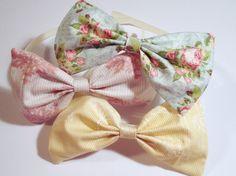 cute bow headbands :)
