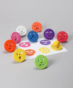 Look at this #zulilyfind! Feelings Stamp Set by Ready 2 Learn #zulilyfinds