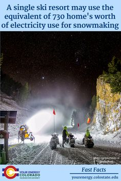 The Secret of Snowmaking – Extension – Your Energy Colorado Gallon Of Water, The Secret, Pond, Skiing, Northern Lights, Colorado, Travel, Life, Ski