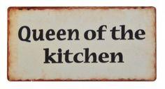 """Ib Laursen Magnet-Schild """"Queen of the kitchen"""""""