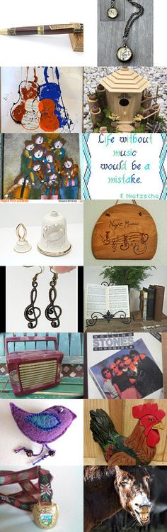 Choose Your Preferred Music Gift by Roee on Etsy--Pinned+with+TreasuryPin.com