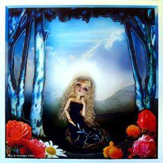 Laura - Custom 1/6 BJD / Doll Box - Wonderland Bjd Dolls, Wonderland, Fine Art, Facebook, Box, Link, Artist, Painting, Snare Drum