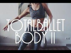 Total Ballet Body Workout Pt. 2 (Legs, Abs, Butt, & Love Handles) - YouTube
