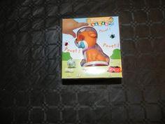 Ref CDP030  Jouet petite enfance, figurine chien  + livre. 10 €